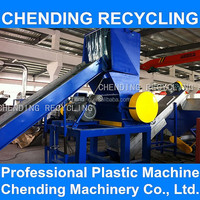 CHENDING cost of waste agricultural film plastic recycling machine washing line