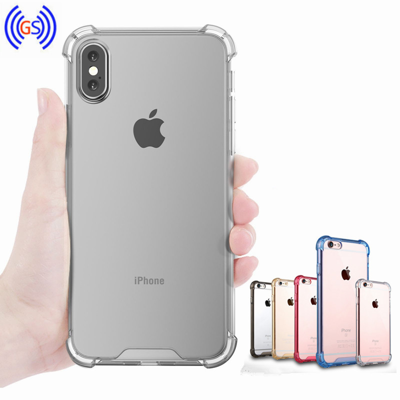 For iPhone X Edition Case , Bumper AntiSlip AntiScratch Cover for iPhone 10 HD Clear Acylic TPU Case