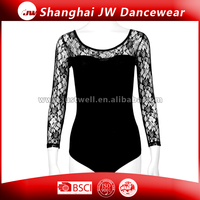 women sexy leotard wholesale long sleeve dance leotard