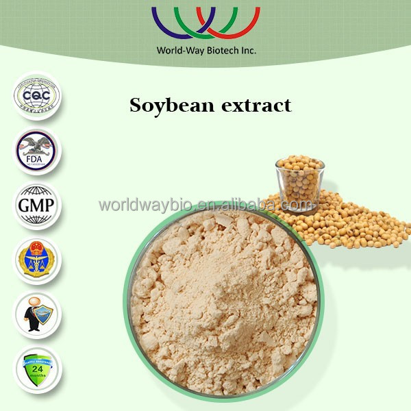 free sample Isoflavone HACCP KOSHER FDA manufacturer bulk powder 40% soy ifoflavone Soybean Meal extract
