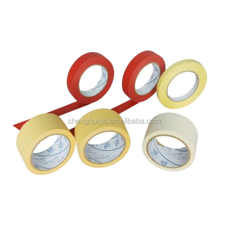 90 Degree Celsius Wall Paint Heat-Resistant Crepe Paper Tape