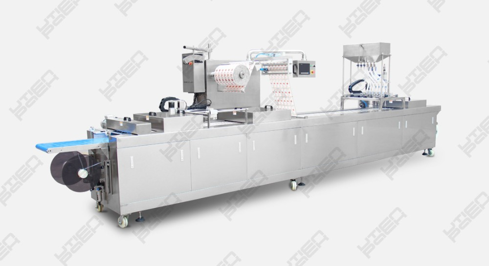 New general style vacuum automatic machine for packaging sausage