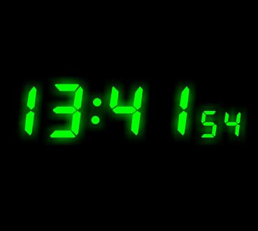 New design ! full color various size mini led clock display