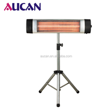 New style 2500W freestanding electric quartz heater outdoor electric quartz infrared heaters