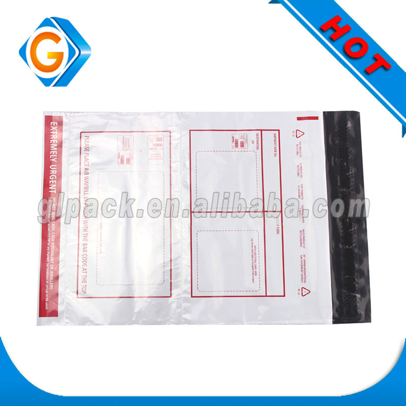 Shenzhen Large grey poly mailer bag PE plastic mailing bags with custom printed logos wholesale