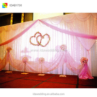 wedding backdrops and swags/indian backdrop/wholesale wedding accessories