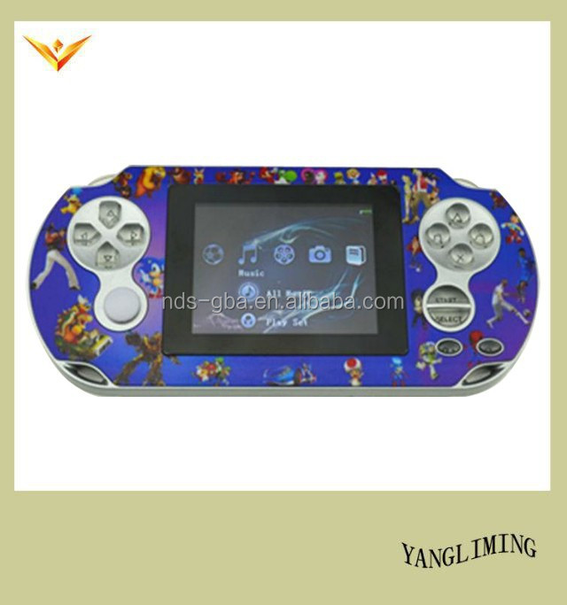 32 bit portable mp5/video/music game consoles with PMP4