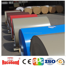 High quality color coated aluminum coil for rain gutter