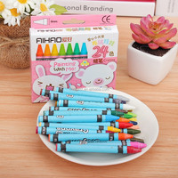 8 colors cute soft pastels , fluorescent crayon of Korea stationery