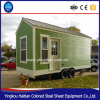 Flat tiny quality low cost economic wooden homes on wheels container house with wheels for sale