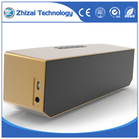 Gold Portable Wireless Bluetooth Speaker For Phone iPod
