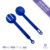 ST519 Novel designed plastic multi functional salad spoon and fork tong 3-in-1