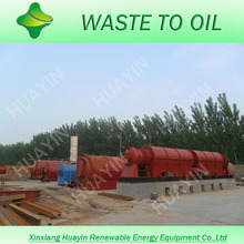 Turnkey Project industrial waste oil recycling equipment