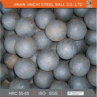 hot rolled steel ball for mining ISO certified forged grinding ball