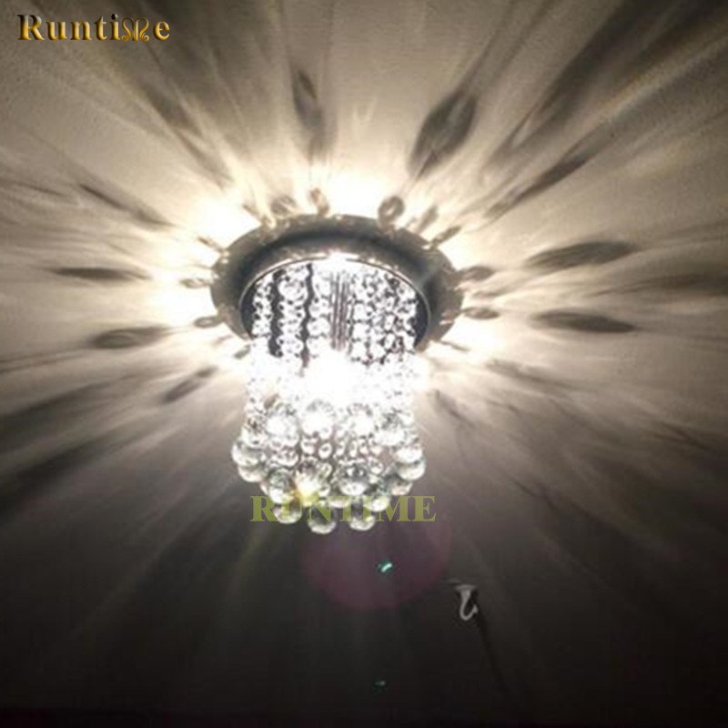 Low Ceiling Chinese K5 Crystal Mini Chandelier