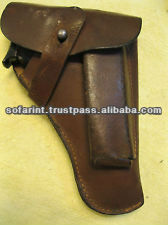 100% Leather Gun Holster/ Gun Leather Cases