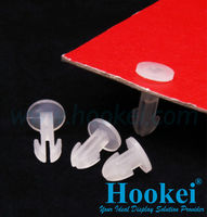Plastic Screws and Fasteners for Cardboard Display