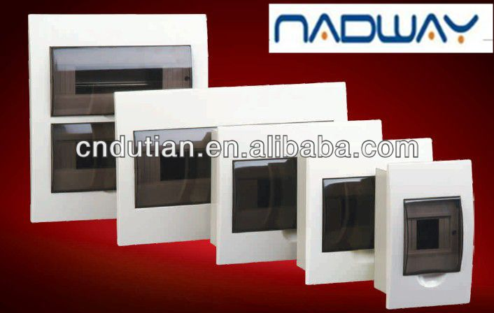 reliable quality and hot sale waterproof flushed distribution box MCB enclosures