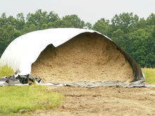 agricultural plastic polyethylene grain silage silo tube bag for grain fodder maize grass storage