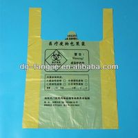 eco friendly quality products smile face thank you printing t-shirt bag