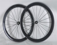road Tubular wheelset, super light 50mm Tubular carbon wheels, Road carbon bicycle wheel