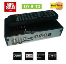 In stock dvb-t2 set top box class hd satellite receiver for Ghana