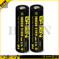 High Drain battery 18650 imr basen 3100mAh IMR-Li MN 3.7v Rechargeable Battery auto battery high quality