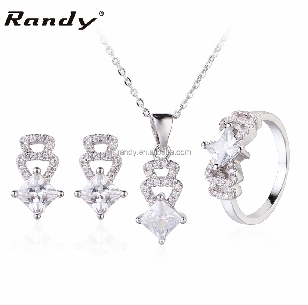 Fashion Neclace Set Jewelry Turkish Silver Jewelry Sets 2016