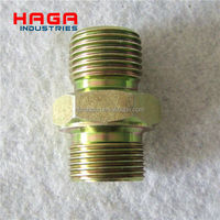 Hydraulic Union Fittings Double Male Fittings