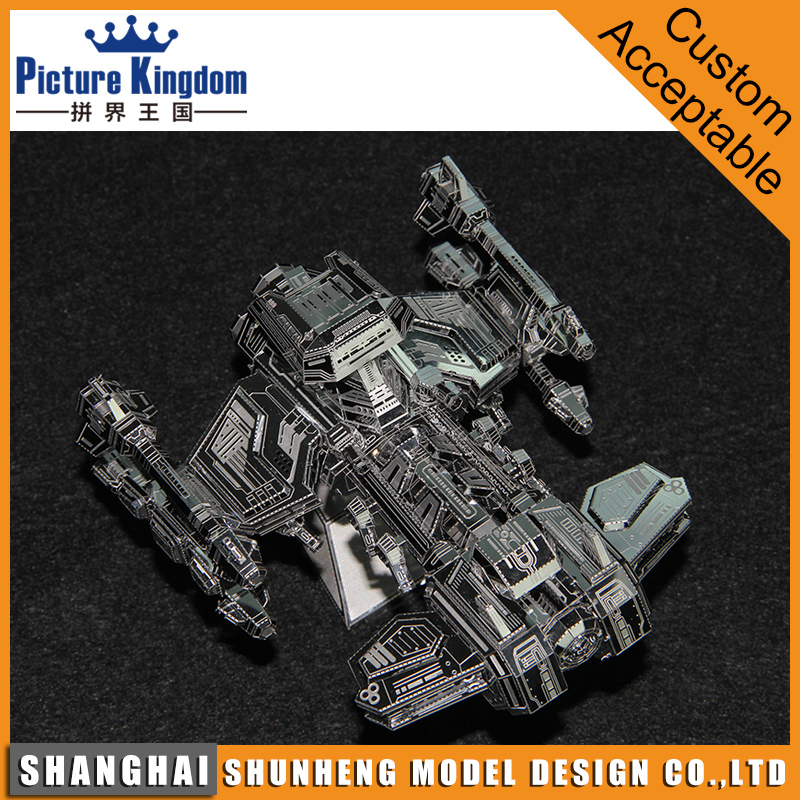 Miniature Star Warship 3D Metal Puzzle Scale Model Toys for kids