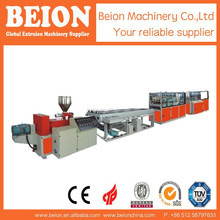 GOOD QUALITY PVC FOUR PIPES EXTRUDERING MACHINERY PVC MANUFACTURING PRODUCTION UNIT