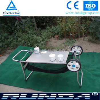 platform hand trolley for beach use