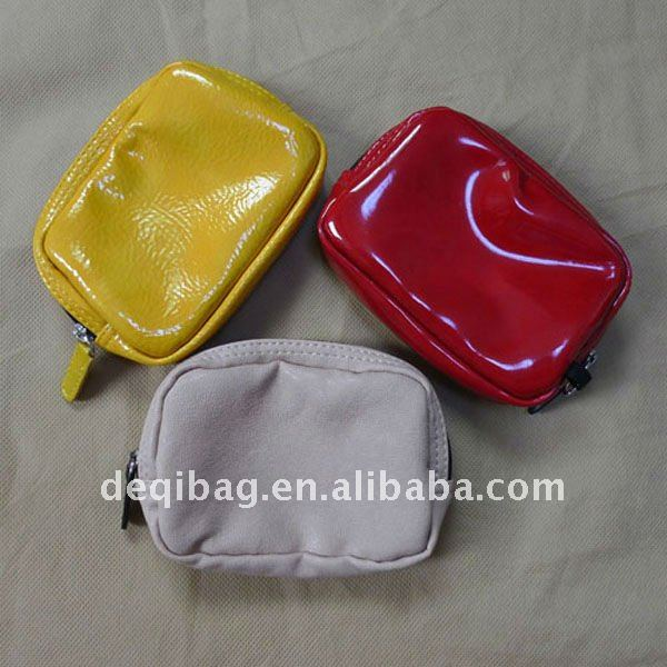 pure color PU coins purse