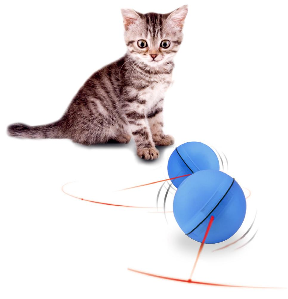 USB Flash Rolling Ball Feather Funny Cat Toy Funny Pet Toy For Wholesale