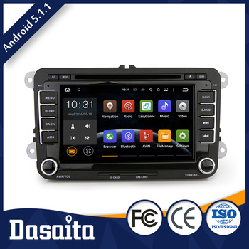 7 Inch Car Wifi gps multimedia navigator dvd price for VW skoda