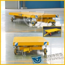 Flexible and stable towing car pull bogie mover in china