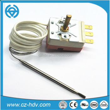 cost-effective electric oven thermostat with VDE and UL