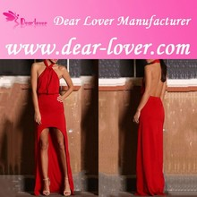 2015 red tube sex women party dress or christmas Evening Dress