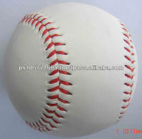 Baseball made of Synthetic Leather