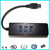 RTL8152 tablet pc network card adapter usb 3.0 to gigabit lan card with hub