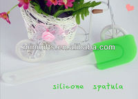 Environmental colorful food grade Silicone Cake Spatula