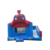 Customized inflatable bounce house combo with slide A3106