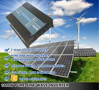 alibaba express Pure Sine Wave power solar Inverter 1000w with solar panel system