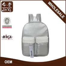 Hot sale cute japan and korean style factory school backpacks with zipper