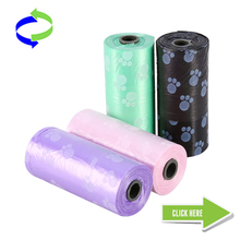 100% Biodegradable Dog Pet Waste Bags on Roll for Household