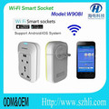 Best price USA wifi smart socket, tablet smartphone control, high property wireless wifi socket switch