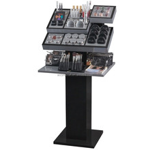 black mac cosmetic mac makeup display stand new design acrylic makeup display cosmetic stand