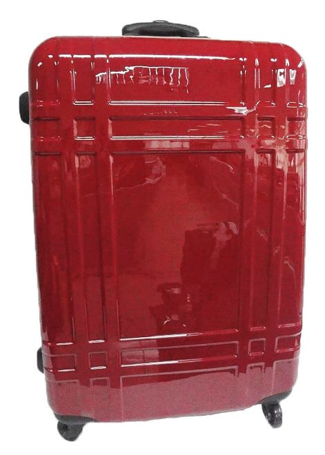 ABS TRAVELING LUGGAGE RED