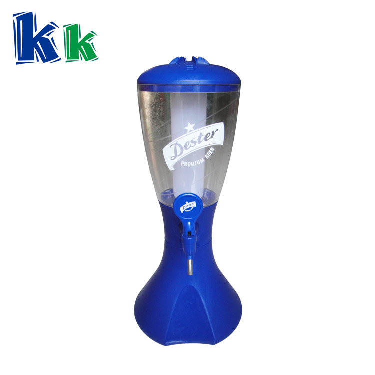 High quality cheap plastic beer tower or juice dispenser