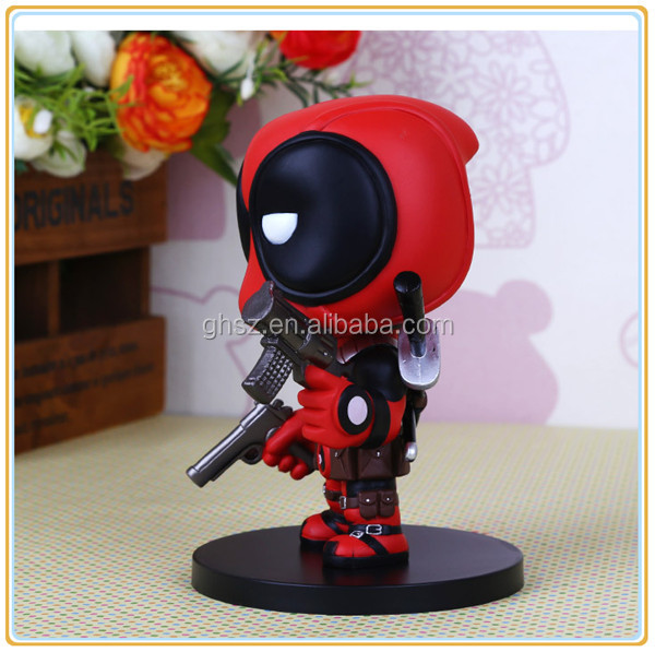 Factory price hot deadpool movie deadpool 3d model factory